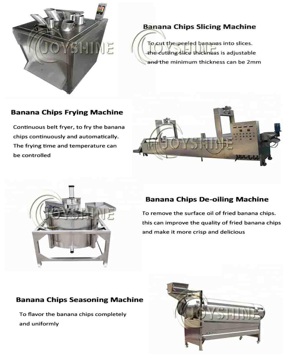 plantain chips production line process