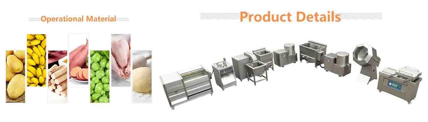 半自动木薯片生产线